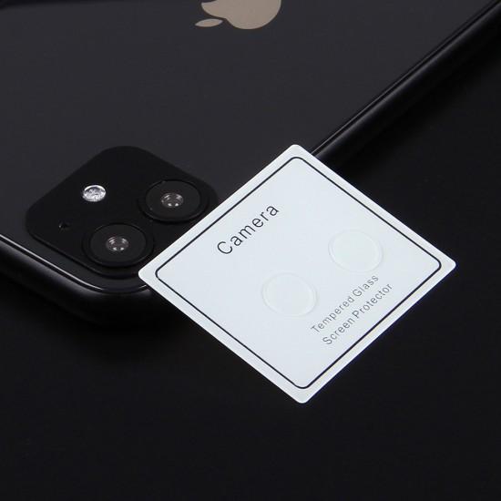 Защитное стекло на камеру для iPhone 11 (2 шт.) 0.3 mm, арт.011418