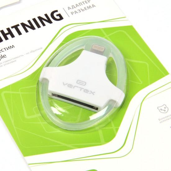 Адаптер USB с iPhone 4 на iPhone 5/iPad 4/ iPad mini, арт.003393