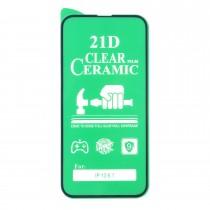 Стекло Ceramic iPhone 13/13 Pro противоударное, арт. 012537-1