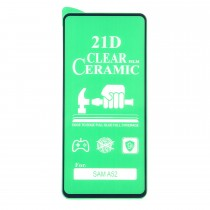 Стекло Ceramic Samsung Galaxy A52 5G противоударное, арт. 012537-1