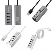 USB 2.0 HUB Hoco HB1 4 порта, арт.010548