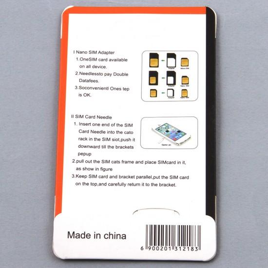 Набор адаптеров для сим-карт Griffin 4 в 1, арт.006455