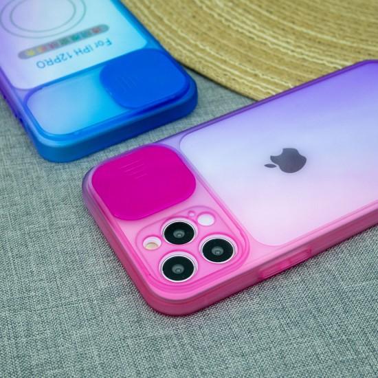 Чехол для iPhone 12 Pro Градиент, с защитой камеры, арт.012939