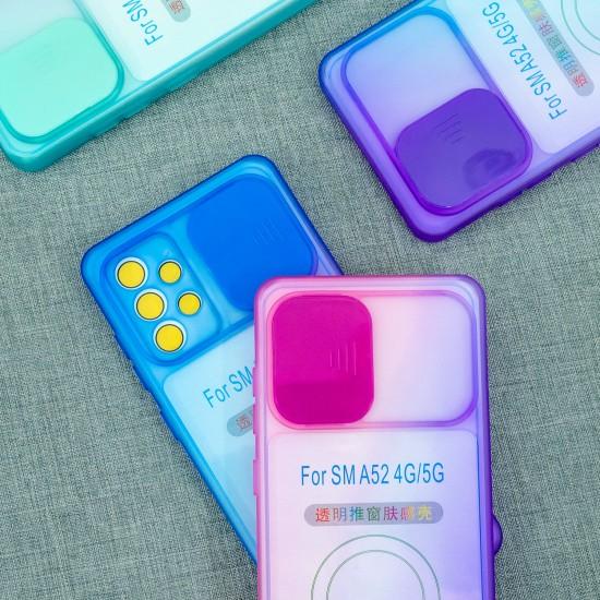 Чехол для Samsung Galaxy A52 5G Градиент, с защитой камеры, арт.012939