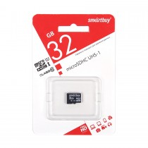 MICRO SD 32Gb Smart Buy Class 10  UHS-I без адаптера SD