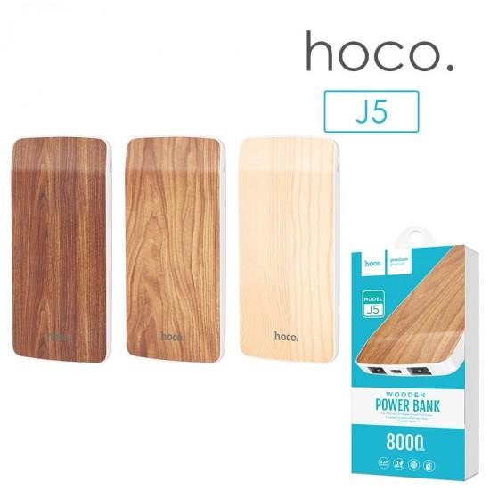 Внешний аккумулятор универсальный Hoco J5 8000 mAh, арт.010651