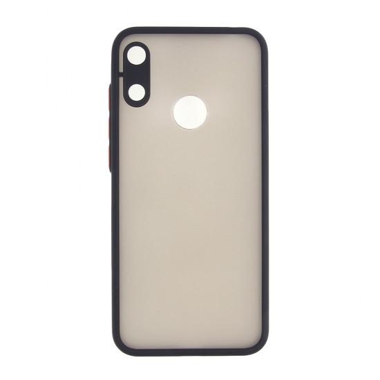 Чехол для Huawei Y6 (2019)/ Honor 8A,ТПУ, матовый, с цветными бортиками, арт 011417