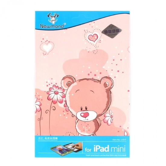 Декоративная защитная пленка 2 в 1 для iPad mini, арт.U-017