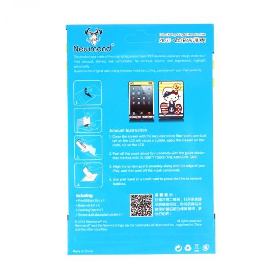 Декоративная защитная пленка 2 в 1 для iPad mini, арт.U-006