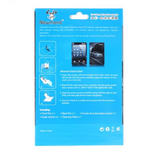 Декоративная защитная пленка 2 в 1 для iPad mini, арт.U-011