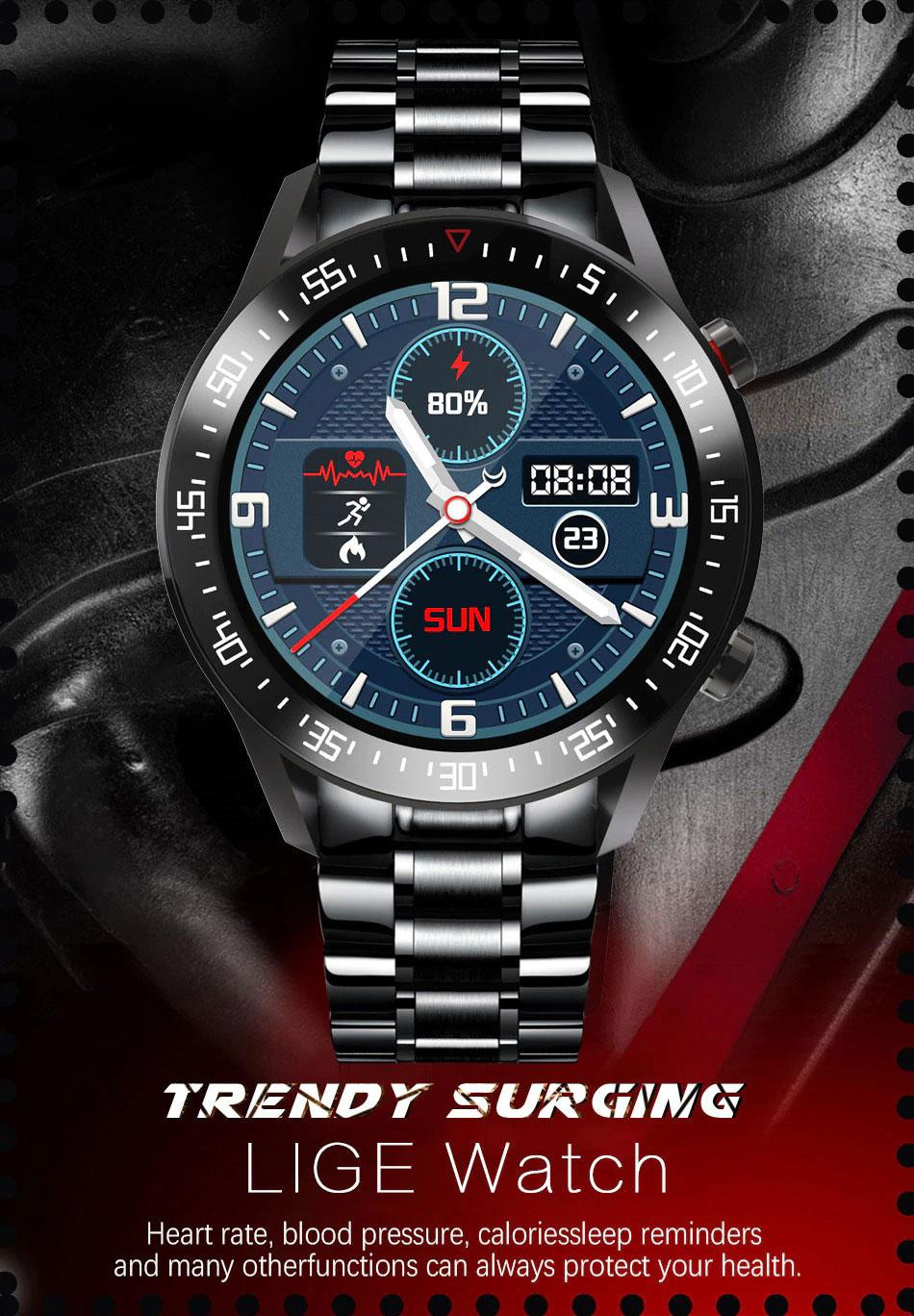 Смарт часы Lige BW0160